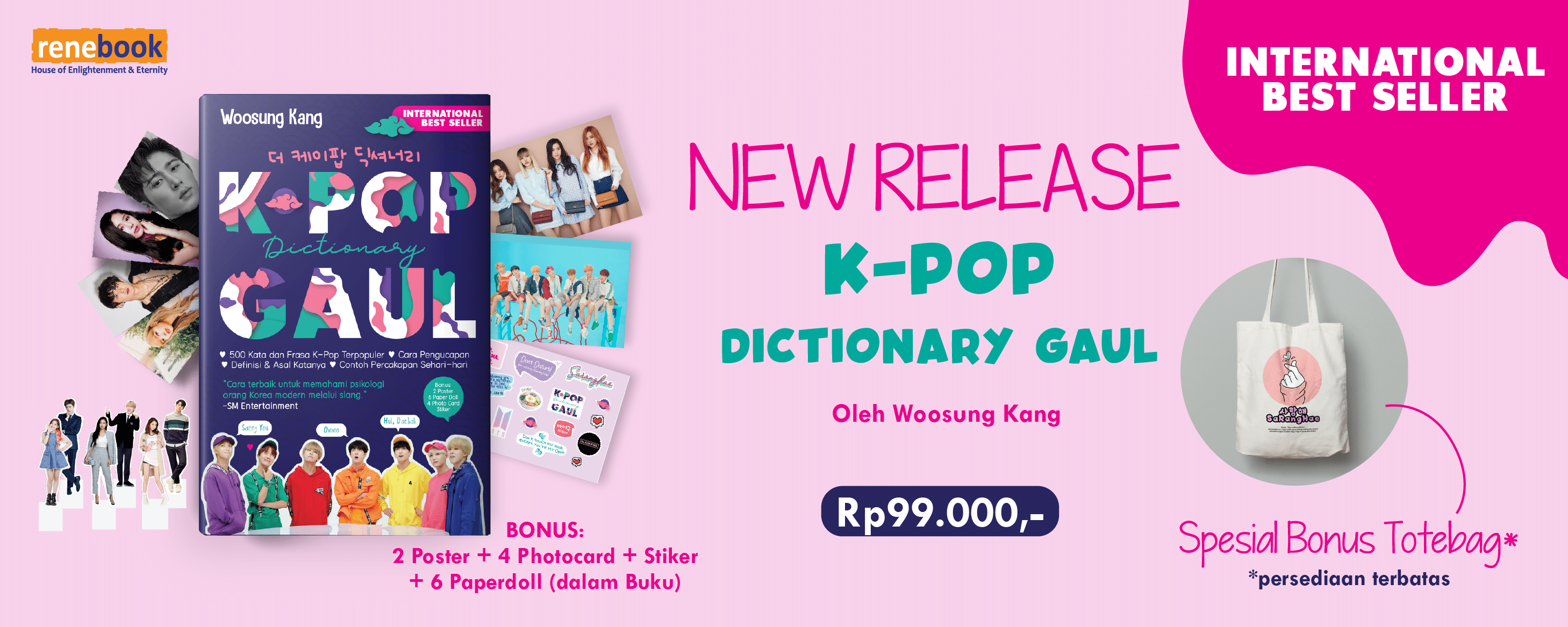 PROMO K-pop Dictionary Gaul